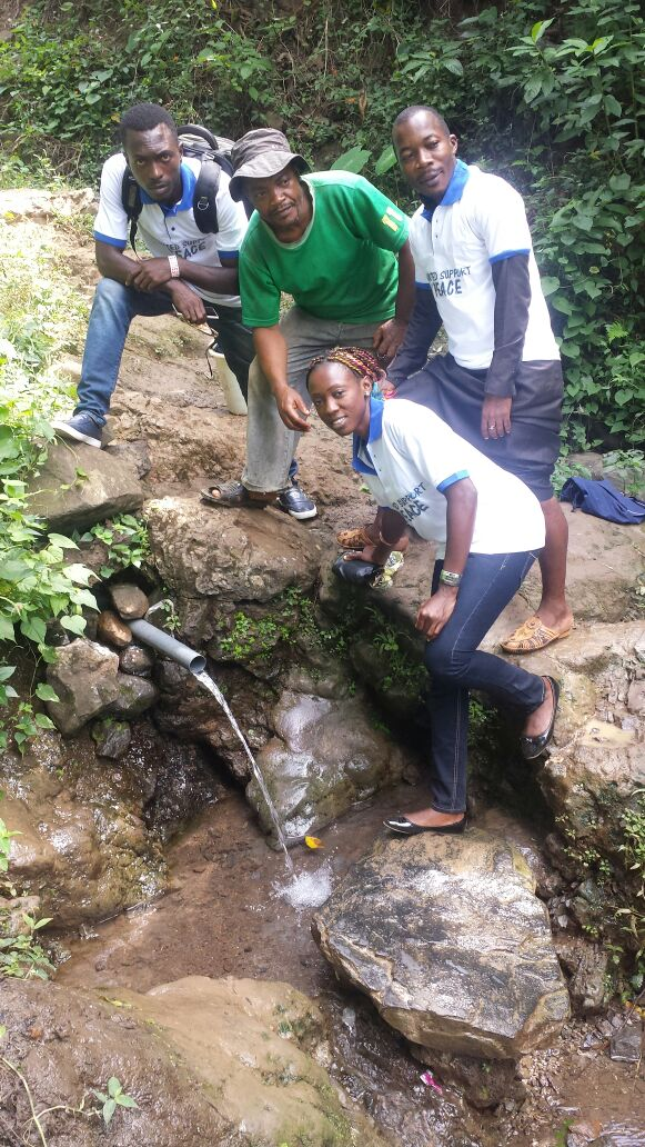 Completed Water Catchment Project